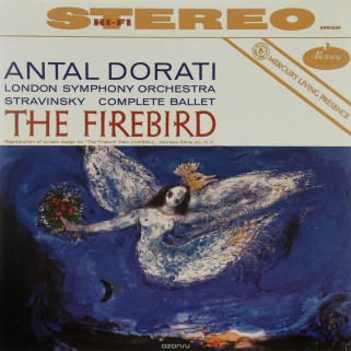 Пластинка Stravinsky - The Firebird Suite