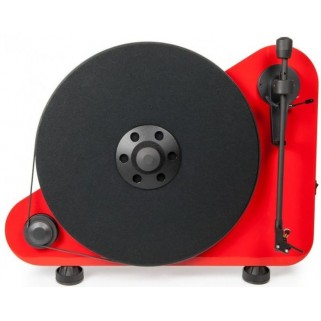 Проигрыватель пластинок Pro-Ject VT-E R OM5e Red