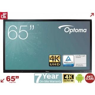 Интерактивная панель Optoma OP651RKe UHD 4K