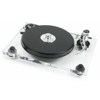 Проигрыватель пластинок Pro-Ject 2Xperience DC S-Shape 2M-Silver Acryl