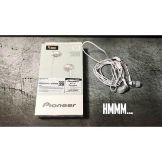 Наушники Pioneer SE-C3T White