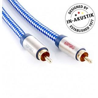 Сабвуферный кабель Inakustik Premium Audio Mono SUB 2,0m