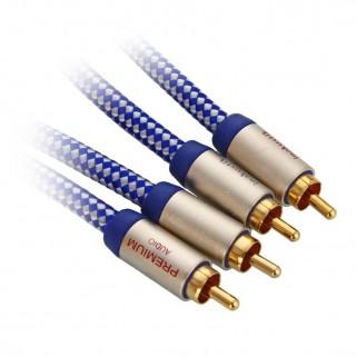 Межблочный кабель Inakustik Premium Phono RCA-RCA 1,5m