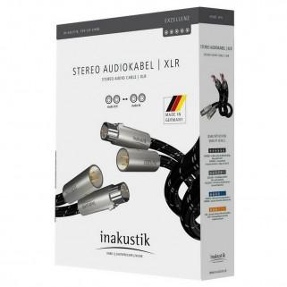Межблочный кабель Inakustik Exzellenz Audio XLR stereo 1,5m