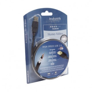 Кабель Inakustik Premium USB A -B 2 m