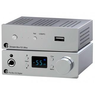 Комплект Pro-Ject Set Pre Box S2 Digital + Stream Box S2 Ultra Chrome