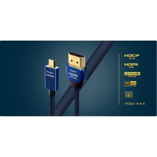 HDMI кабель Audioquest HDMI SLINKY THIN MICRO HDMI