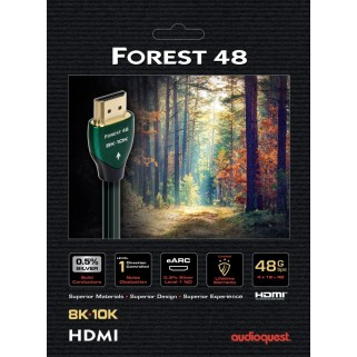 HDMI кабель Audioquest HDMI 2.1 Forest 48 1.5  m.
