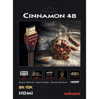 HDMI кабель Audioquest HDMI 2.1 Cinnamon 48 3 m
