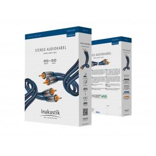Межблочный кабель Inakustik Premium Audio Stereo RCA 0,75m