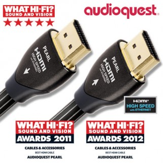 Audioquest HDMI Pearl 0.6 m.