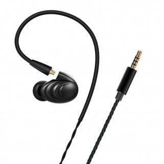 FIIO F9SE In-Ear hybrid headpnones Black