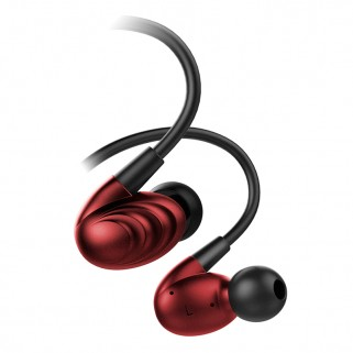 FIIO F9SE In-Ear hybrid headpnones Red