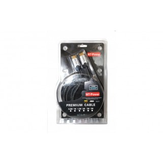 Кабель HDMI MT-Power HDMI  2.0  Silver 0.8 M.