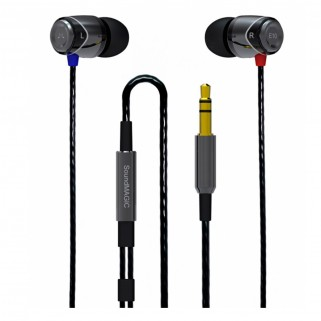 Наушники SoundMagic E10S Gun Black