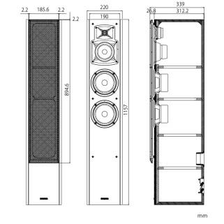 Напольная акустика Yamaha NS-F350