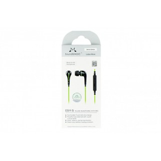 SoundMagic ES11S Black Green