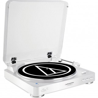 Проигрыватель пластинок Audio-Technica Audio-Technica AT-LP60 Bluetooth White