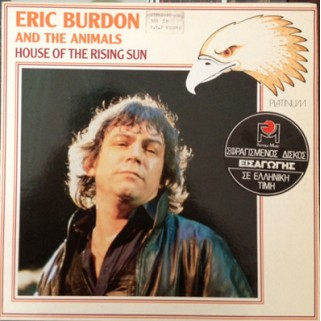 Пластинка ERIC BURDON AND THE ANIMALS – HOUSE OF THE RISING SUN