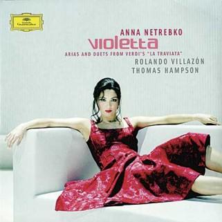 Пластинка ANNA NETREBKO – VIOLETTA 2LP (2005) R.VILLAZON T.HAMPSON