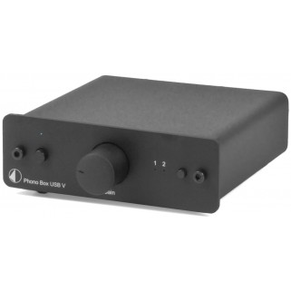 Фонокорректор Pro-Ject Phono Box USB V (DC) Black