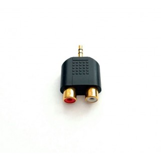 MT-Power - RCA to 3.5mm 24k Gold-Plated