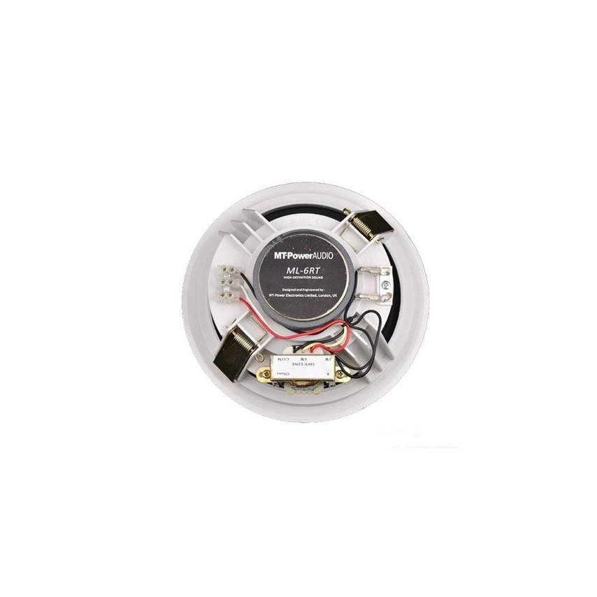 Встраиваемая трансформаторная  акустика  MT-Power ML- 6RT  White
