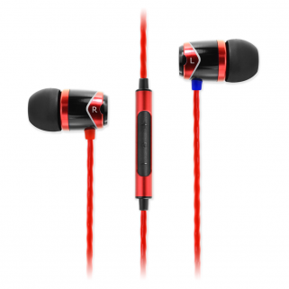 Наушники SoundMagic E10C Black Red