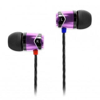 Наушники SoundMagic E10 Purple-Black