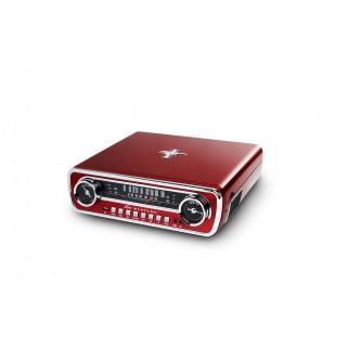 Проигрыватель пластинок ION Mustang LP Red