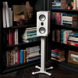 Стойки под акустику Monitor Audio Studio Stand White