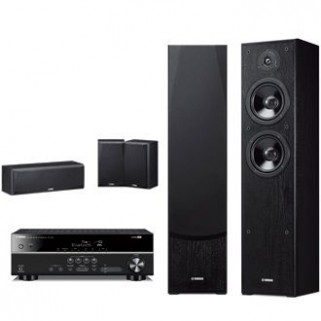 Комплект Yamaha Kino SYSTEM  (RX-V385 + NS-F51 + NS-P51)  Black